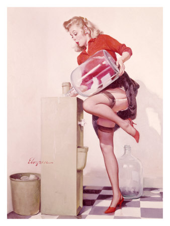 pin up girl artists. Pin-Up art: