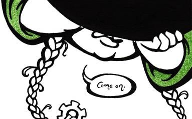 """Tock the Gnome"" page 43 promo"