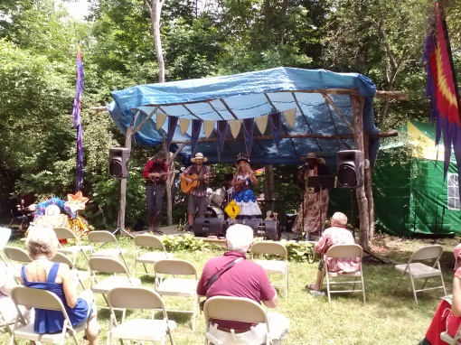 Sofeya and the Puffins performing, NY Faerie Fest 2014