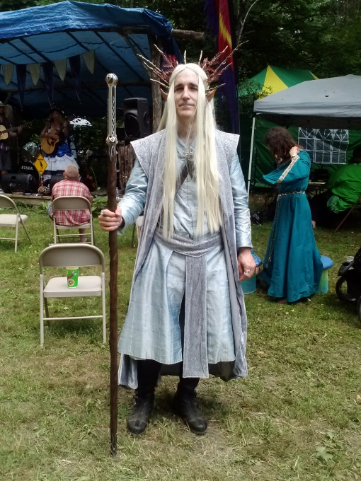 His Highness King Thranduil, at NY Faerie Fest 2014
