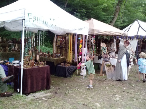 Wonderful artists, NY Faerie Fest 2014