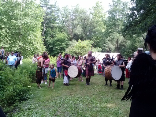 Cu Dubh performing, NY Faerie Fest 2014