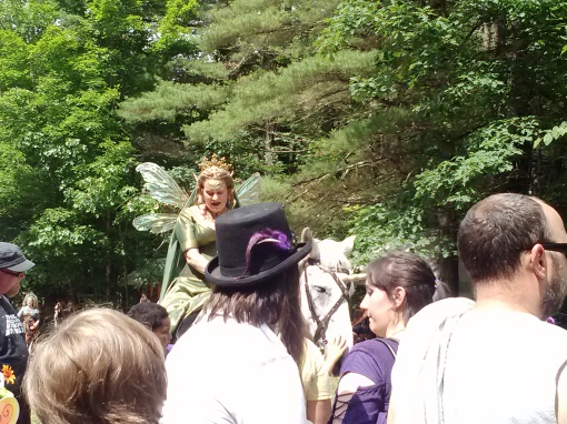 The Faerie Queen, NY Faerie Fest 2014