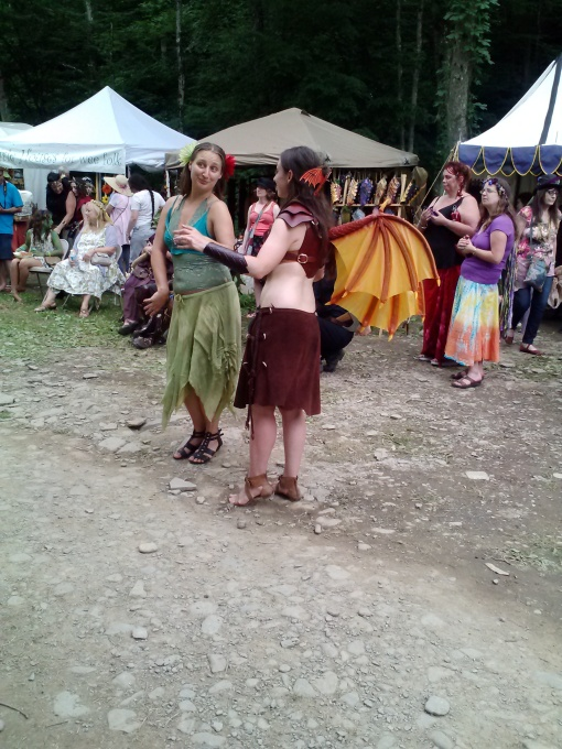 Amazing festival costumes, NY Faerie Fest 2014