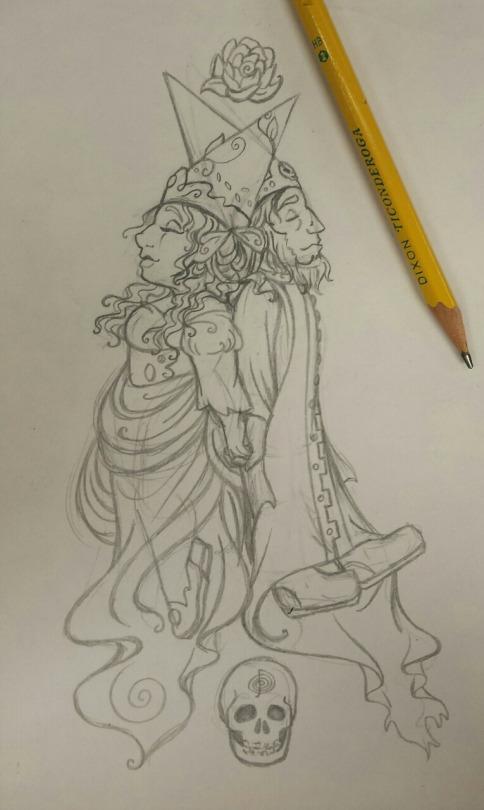 sketch_ladybirthlorddeath_rachelillustrates