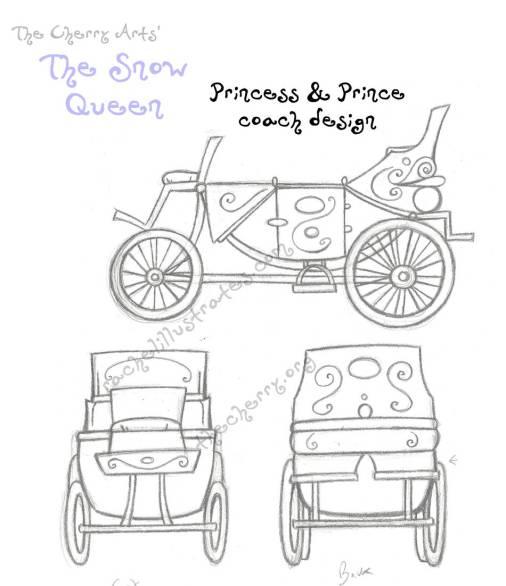 cherry_arts_snow_queen___golden_coach_by_rachelillustrates-dar2zro