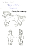 cherry_arts_snow_queen___sleigh_horse_by_rachelillustrates-dar2zqb