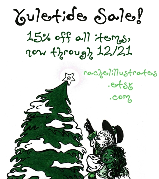 yuletidesale_rachelillustrates